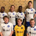 Team Horne Hirtshals U13 drenge til Nordjysk Mesterskab i Futsal