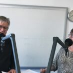 LYD: Louise Hvelplund og Søren Smalbro fra Hjørring Byråd slog vejen forbi