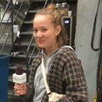 Sofie er i erhvervspraktik på Skaga FM