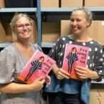 Kreativt samarbejde med to der elsker bøger