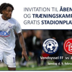 Invitation til åben hus og træningskamp – Vendsyssel FF vs. AaB