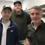 LYD: Hit-stormerne ADHD besøgte Skaga FM