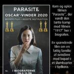 Den Oscar-vindende Parasite går i Movie House Hjørring