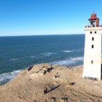 Rubjerg Knude Fyr får sit eget monument på skrænten