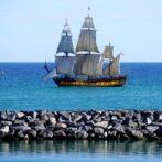 GALLERI: Fornemt besøg i Hirtshals havn